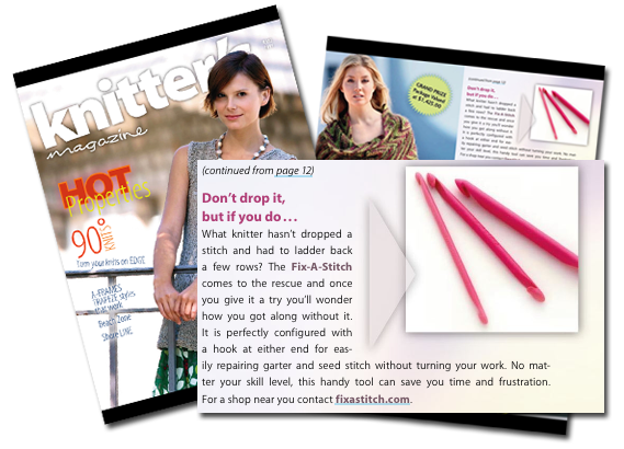 As featured in Knitters Magazine