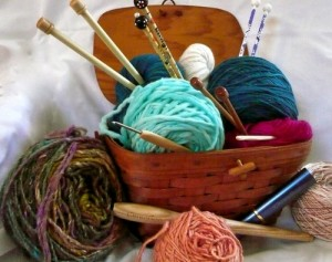 Mimi's Needle Basket